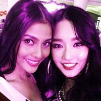 Trương Thị May nổi bật tại Miss Universe