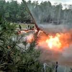 """Tin tức trong ngày - Nga: Trực thăng Ka-52 """"Cá sấu"""" rơi gần nhà dân"""