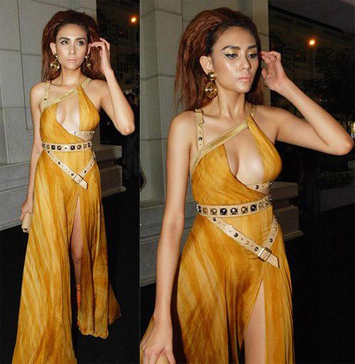 Váy áo liều lĩnh của giai nhân Việt! - 8