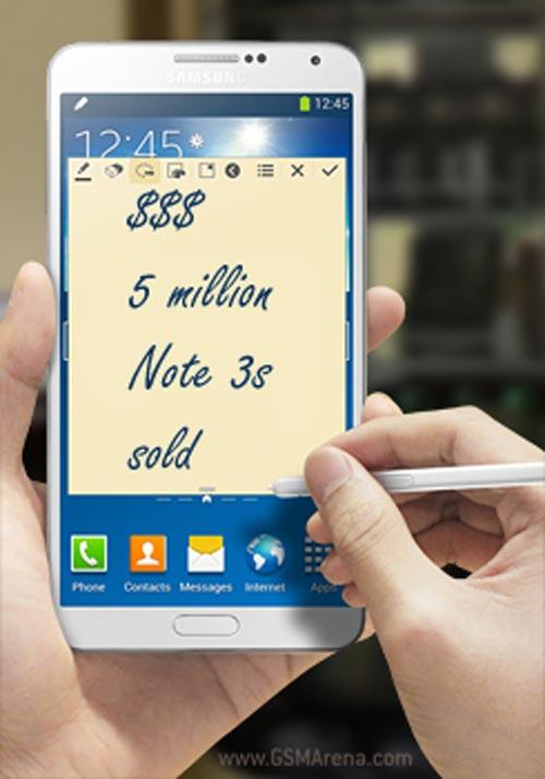 Samsung đạt mốc 5 triệu chiếc Galaxy Note 3 - 1