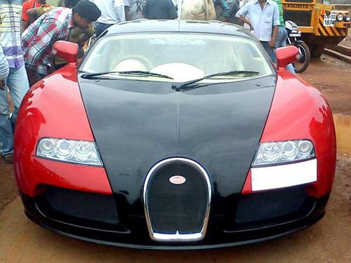 Làm giả Bugatti Veyron vì… không tiền - 1