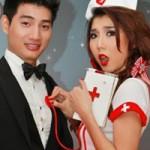 Phim - Ngọc Quyên hóa nữ y tá sexy