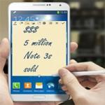 Thời trang Hi-tech - Samsung đạt mốc 5 triệu chiếc Galaxy Note 3