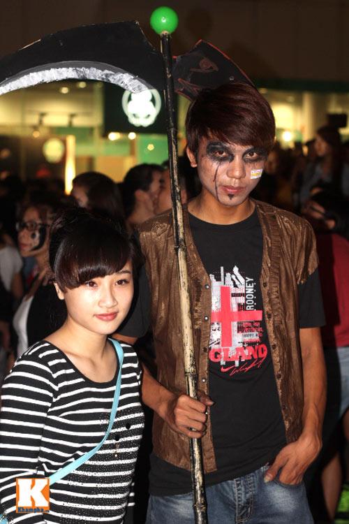 """Những """"con ma"""" trong đêm hội Halloween - 4"""
