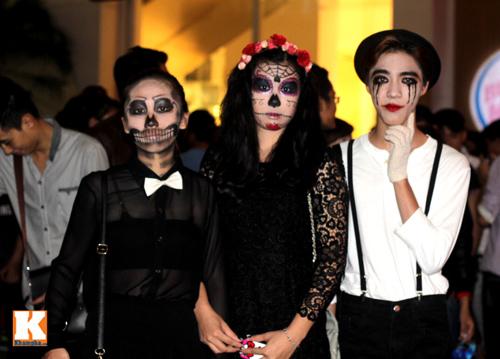"""Những """"con ma"""" trong đêm hội Halloween - 16"""