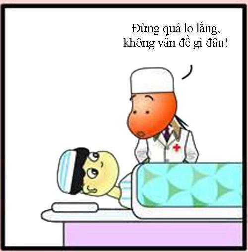 Quên kéo trong bụng bệnh nhân - 7