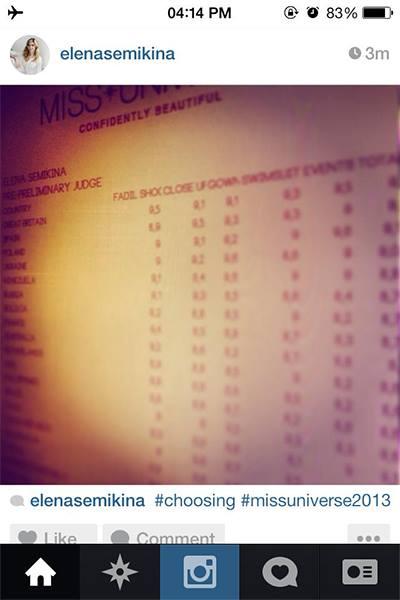 Rò rỉ bảng điểm sơ bộ của Miss Universe - 1