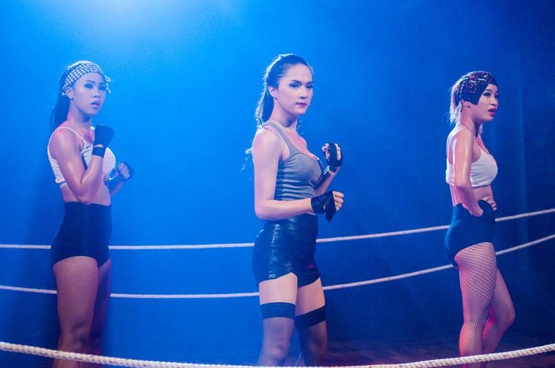 Hương Giang Idol hóa boxing girl gợi cảm - 5