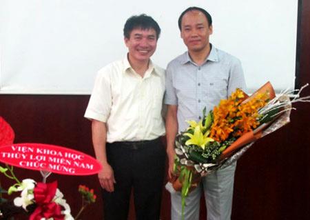 PGS.TS Trần Đình Hòa được đặc cách phong giáo sư - 1