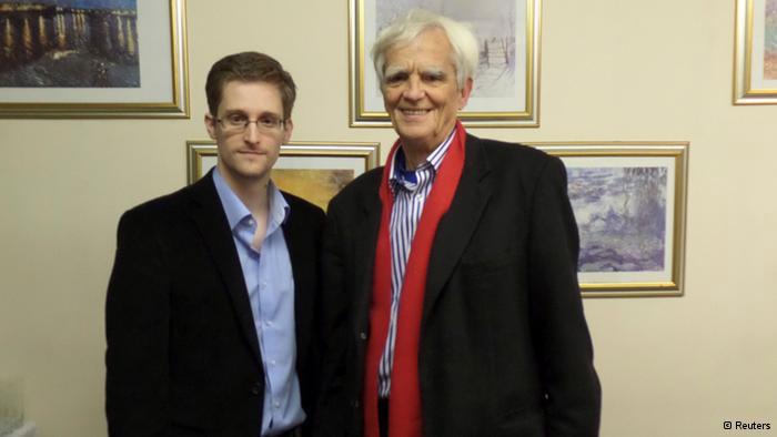 Đức nhờ Snowden ra làm chứng chống lại Mỹ - 1