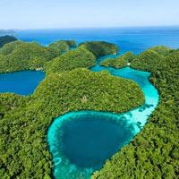 Thả hồn vào sắc xanh đảo Rock ở Palau