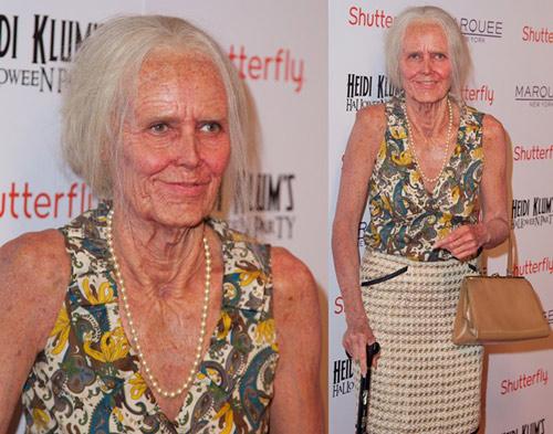 """Ngỡ ngàng màn """"hóa lão"""" của Heidi Klum - 1"""