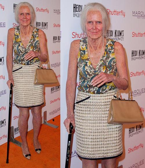 """Ngỡ ngàng màn """"hóa lão"""" của Heidi Klum - 2"""