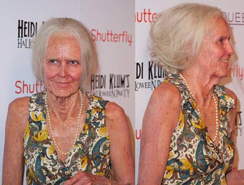 """Ngỡ ngàng màn """"hóa lão"""" của Heidi Klum - 3"""
