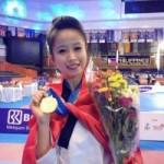 - Hoa khôi làng võ Châu Tuyết Vân lần thứ 3 vô địch thế giới