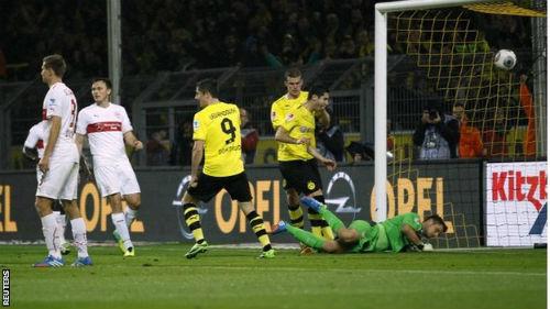 Dortmund - Stuttgart: Đánh tennis - 1