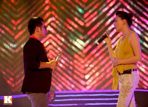 Bằng Kiều ngồi bệt tập hát với Hương Hồ - 11