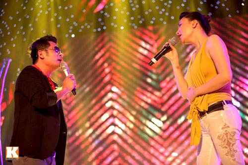 Bằng Kiều ngồi bệt tập hát với Hương Hồ - 3