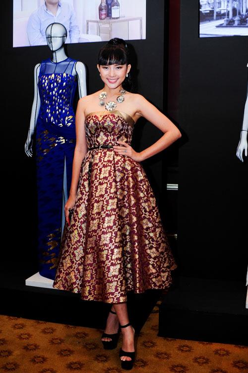 Hồng Nhung táo bạo với váy trong suốt - 3