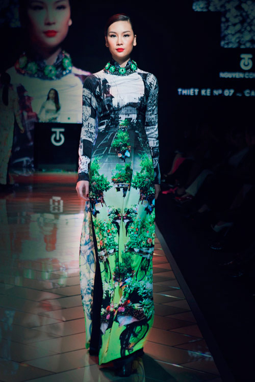 """Thổn thức vì áo dài """"made in Sài Gòn"""" - 10"""