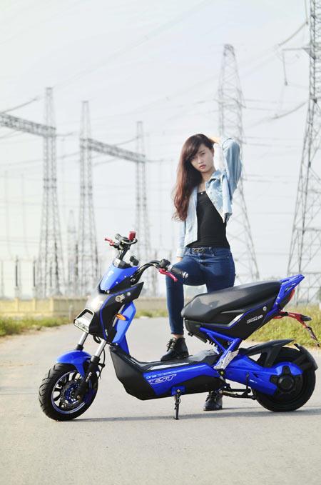 Xe điện Gianya X men – Sự lựa chọn thông minh - 4