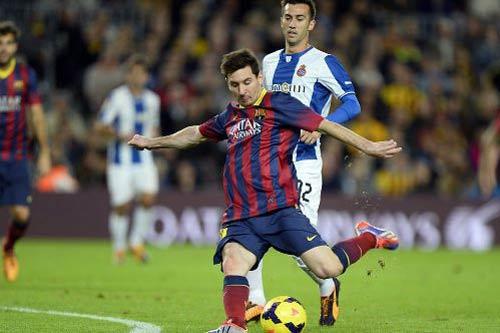 Messi: Thiếu bàn thắng, thiếu sức sống - 1