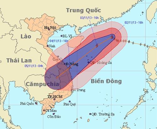Bão Krosa tấn công biển Đông, biển động dữ dội - 1