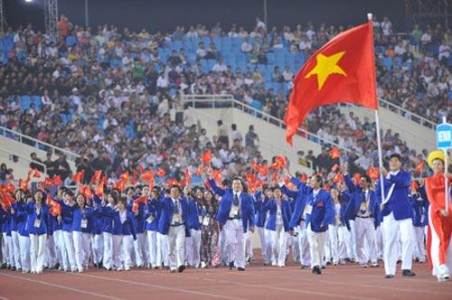 """Hé lộ """"binh lực"""" đoàn thể thao Việt Nam dự SEA Games - 1"""
