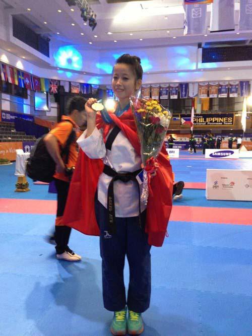 Nhan sắc của hotgirl vô địch taekwondo Châu Tuyết Vân - 3