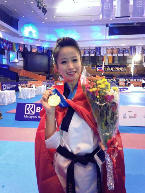 Nhan sắc của hotgirl vô địch taekwondo Châu Tuyết Vân - 4