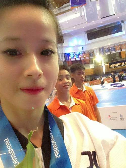 Nhan sắc của hotgirl vô địch taekwondo Châu Tuyết Vân - 8