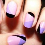 Làm đẹp - Vẽ nail màu đối nghịch cho ngày cuối Thu