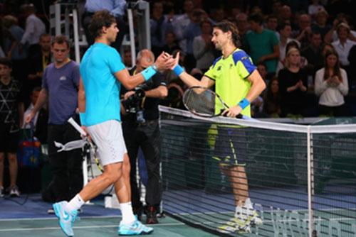 Nadal - Ferrer: Chiến tích bất ngờ (BK Paris Masters) - 1