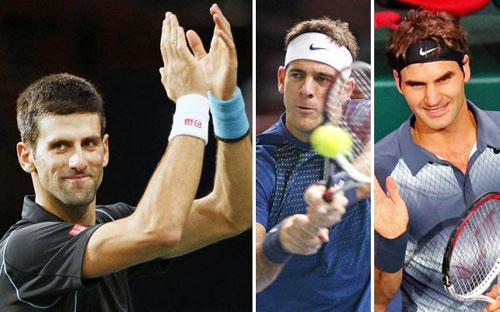 World Tour Finals: Federer chạm trán Djokovic, Nadal dễ thở - 1