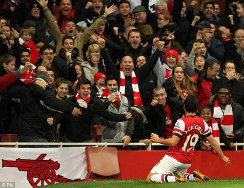 Wenger khẳng định tham vọng của Arsenal - 1