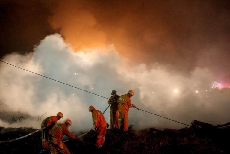 TQ: Nổ nhà máy pháo hoa, 11 người thiệt mạng - 1