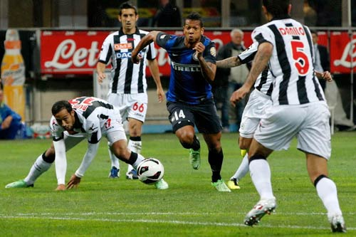 Udinese – Inter: Lên dây cót cùng Zanetti - 2