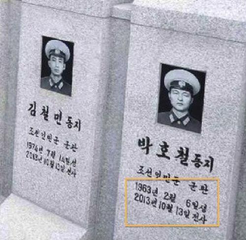 Kim Jong-un viếng mộ 30 người lính chết bí ẩn - 4