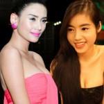 Thời trang - Khi mỹ nhân Việt vất vả ngực đầy