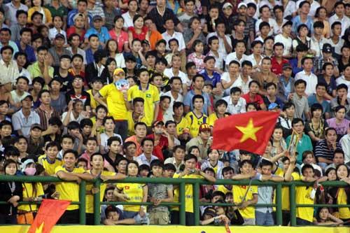 """Hình ảnh """"choáng"""" ở trận CK của U23 VN - 11"""