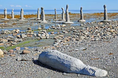 Những tác phẩm kì lạ bên dòng sông ở Canada - 2
