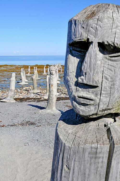 Những tác phẩm kì lạ bên dòng sông ở Canada - 4