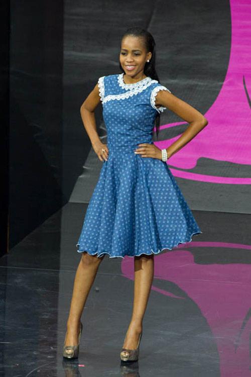 Ngợp vì váy dân tộc tại Miss Universe - 16