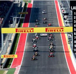 Lịch thi đấu F1: United States GP 2013 - 2