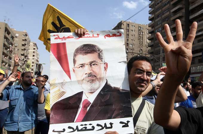 Ai Cập báo động cao trước phiên xử cựu TT Mursi - 1