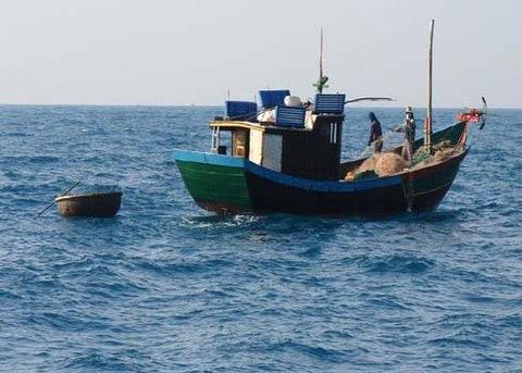 Tránh bão, tàu cá cùng 14 ngư dân mất liên lạc - 1