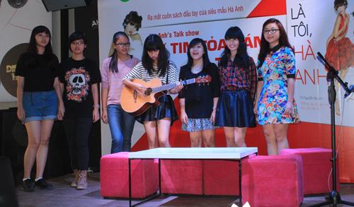 Hà Anh gợi cảm bên Kathy Uyên - 9
