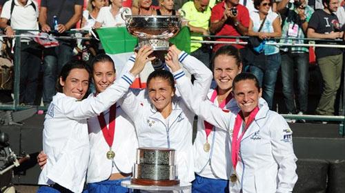 Fed Cup 2013: Nga thua tinh thần Italia - 3