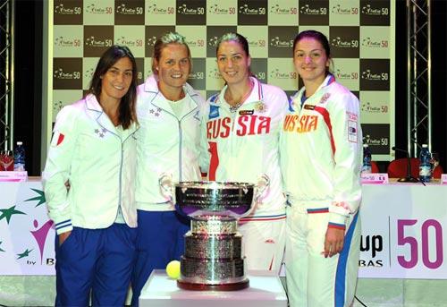 Fed Cup 2013: Nga thua tinh thần Italia - 2