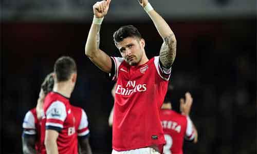 """Arsenal: Đừng """"đặt cược"""" với Giroud - 1"""